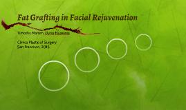 Fat Grafting in Facial Rejuvenation