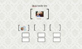 Meza family tree