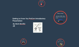 Kevin Bonilla ProCom Introduction 3B