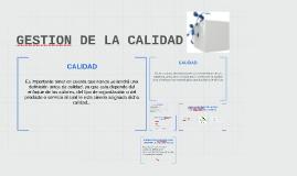 Copy of GESTION DE LA CALIDAD