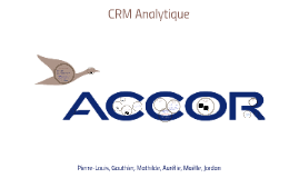 CRM Analytique