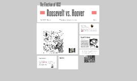 Roosevelt vs. Hoover