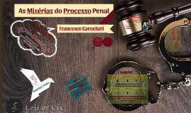 Misérias do Processo Penal