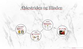Æblestriden og Illiaden