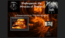 Shakespere: the miracles of theatre