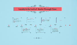 Loyalty & the Lack of- Books Through Time:-)