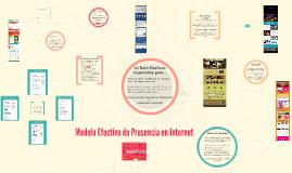 Modelo Efectivo de Presencia en Internet L