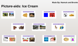 Picture-aids: Ice Cream Flavors