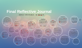 Final Reflective Journal