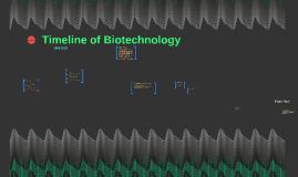 Timeline of Biotechnology