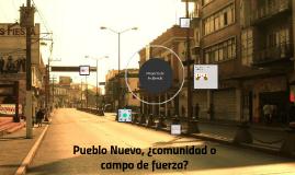 Pueblo Nuevo, comunidad o campo de fuerza?