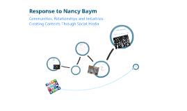 Nancy Baym