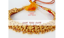 SAVE THIS DATE  Aditi weds Mandar