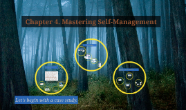 Copy of Chapter 4. Mastering Self-Management