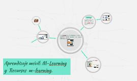 Aprendizaje móvil: M-Learning