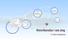Copy of Retorikanalys i sex steg