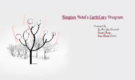Kimpton Hotel's EarthCare Program