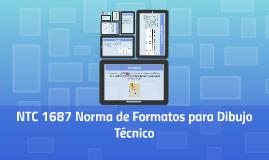 NTC 1687 Norma de Formatos para Dibujo Técnico