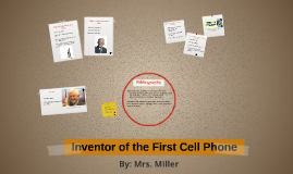 Inventor of First Cell Phone