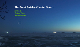 The Great Gatsby: Chapter Seven