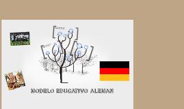 Copy of MODELO EDUCATIVO ALEMAN