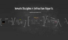 Inmate Discipline & Infraction Reports