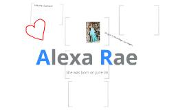 Alexa Rae <3