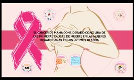 Copy of Copy of EL CÁNCER DE MAMA CONSIDERADO COMO UNA DE LAS PRIMERAS CAUSA
