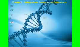 Chapter 2 : Biological and Environmental Foundations