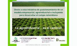 V3 La agroindustria es el camino