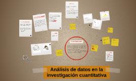 Análisis de datos en la investigación cuantitativa