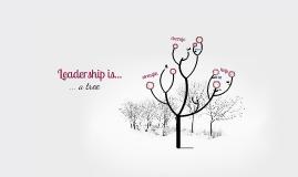 Leadership is a tree.