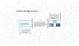 Quebec Bridge Failure
