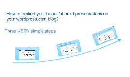 Copy of Embed Prezi into Wordpress