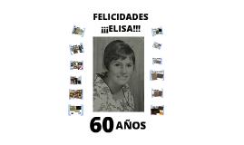 60 Cumpleaños Mami
