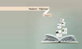 """Modern """" Pilgrims"""""""