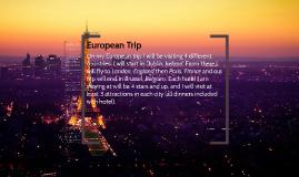Copy of European Trip