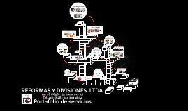 REFORMAS Y DIVISIONES  LTDA.