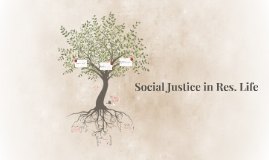 Social Justice in Res. Life