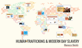 HUMAN TRAFFICKING & MODERN DAY SLAVERY