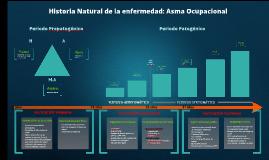 Historia Natural de la enfermedad: Asma by César Espinoza