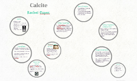Importance of Calcite