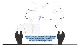 Diseño de una base de datos para el control de inscripcion d