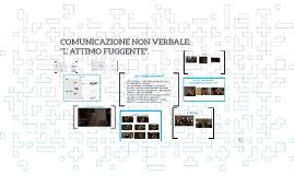 COMUNICAZIONE NON VERBALE: