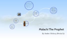 Malachi The