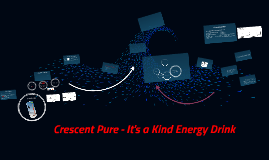 Crescent Pure - It's a Kind Energy Drink