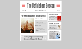 Headlines from Acts- Acts 9-12