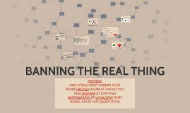 Copy of BANNING THE REAL THING