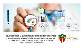AUDITORIA DEL MODELO DE GESTION DE MANTENIMIENTO DE LA UEP HERMANO MIGUEL DE LA SALLE