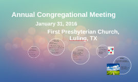 Copy of Annual Congregational Meeting